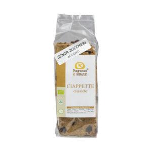 Ciappette Classiche - Snack Integrali Biologici, Vegani e senza zucchero