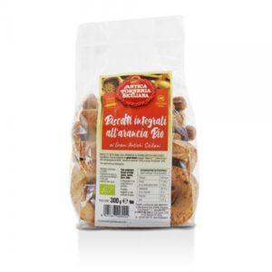 Biscotti Integrali all'Arancia BIO