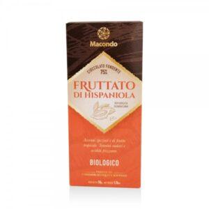 Cioccolato Fondente 75% Fruttato di Hispaniola BIO