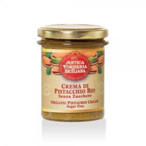 Crema di Pistacchio Siciliano Senza Zucchero BIO