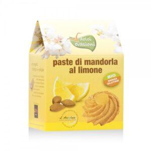 Paste di Mandorla Siciliana al Limone BIO