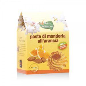 Paste di Mandorla Siciliana all'Arancia BIO