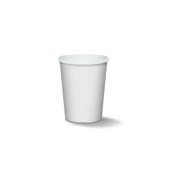 Bicchiere Compostabile Imbustato 240 ml Cartoncino+ PLA N.100 pz per Conf.