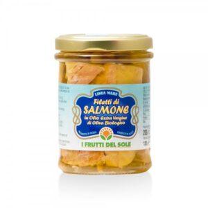 Filetti di Salmone in Olio Evo BIO